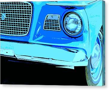 Studebaker Canvas Print by Elizabeth Budd