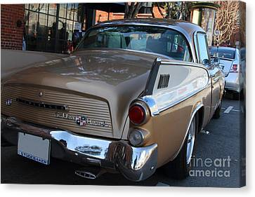 Studebaker Golden Hawk . 7d14182 Canvas Print by Wingsdomain Art and Photography