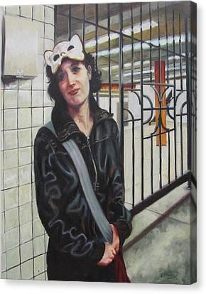 Subway Sosha Canvas Print