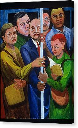 Canvas Print - Subway Welcome by Rufus Norman
