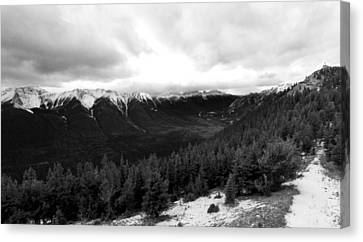 Sulphur Mountain Canvas Print