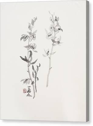 Sumi-e Six Canvas Print by Greg Kopriva
