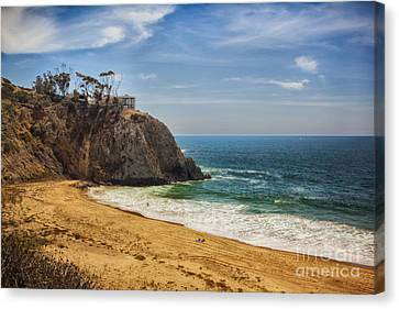 Summer At The Beach Canvas Print