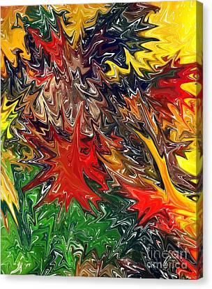 Summer Autumn Canvas Print by Chris Butler