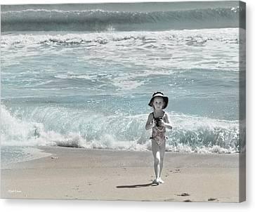 Summer Bliss Canvas Print by Michelle Wiarda