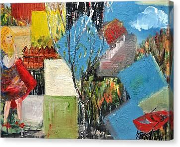 Summer Break Canvas Print by Evelina Popilian