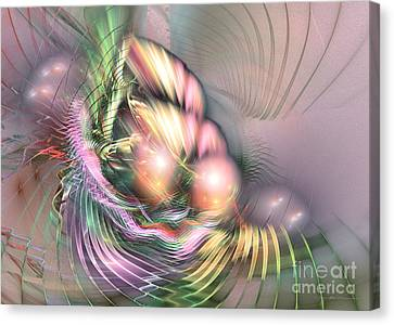 Summer Breeze - Fractal Art Canvas Print