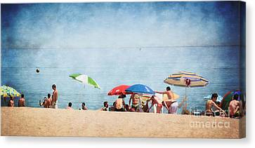 Summer By The Sea Canvas Print by Mary Machare