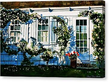 Summer Cottage Canvas Print
