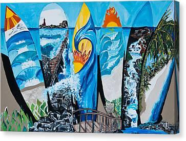 Summer Dayz Canvas Print by Michael Henzel