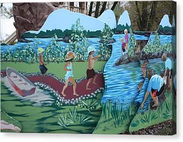 Summer Detail Canvas Print