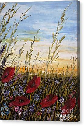 Summer Dream Canvas Print by AmaS Art