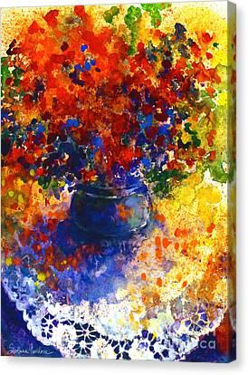 Summer Flowers Canvas Print by Svetlana Novikova