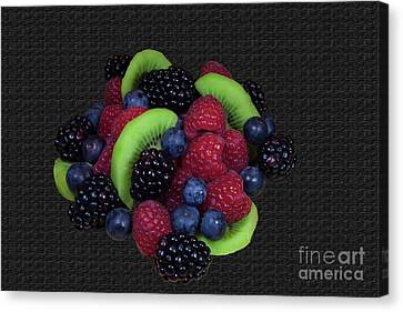 Summer Fruit Medley Canvas Print by Michael Waters