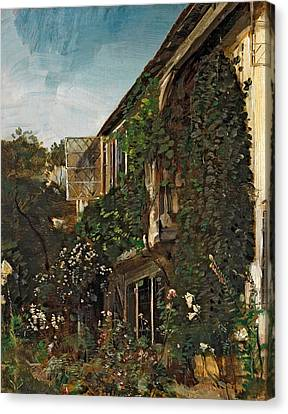 Summer Garden Canvas Print by HM Anthony
