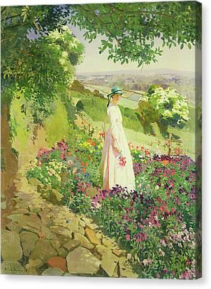 Summer Canvas Print by Harold Harvey