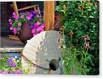 Summer Millstone Canvas Print by Jan Amiss Photography