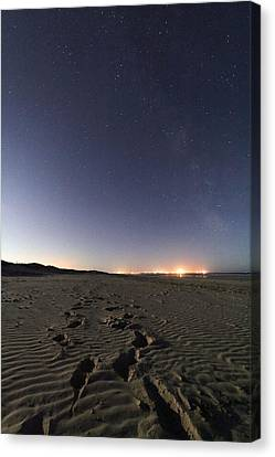 Summer Night Sky Canvas Print by Laurent Laveder