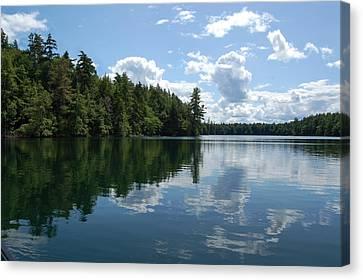 Summer Paddle Canvas Print