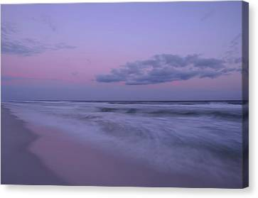 Canvas Print featuring the photograph Summer Sunset by Renee Hardison