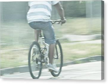 Summers Ride Canvas Print by Karol Livote