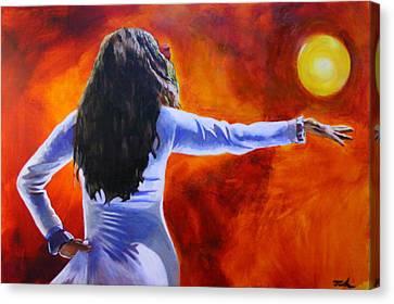 Sun Dancer Canvas Print by Jerry Frech