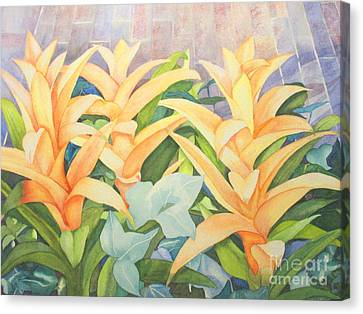 Sun Drenched Canvas Print by Vikki Wicks