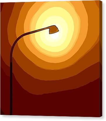 Sun-light Canvas Print