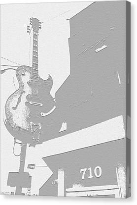 Memphis Recordings Canvas Print - Sun Studios by Jame Hayes