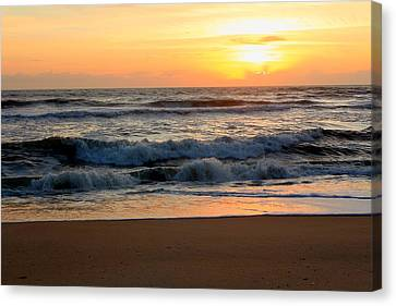 Sunburst Canvas Print by Laurinda Bowling
