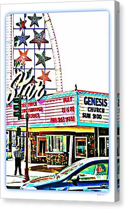 Sunday Comics Canvas Print by Brian D Meredith