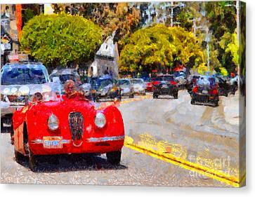 Sunday Drive . 7d15939 Canvas Print by Wingsdomain Art and Photography