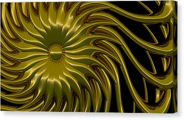 Sunflower Canvas Print by Richard Rizzo
