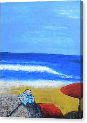 Sunhat Canvas Print