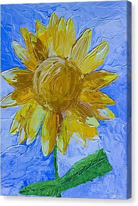 Sunny Canvas Print by Heidi Smith