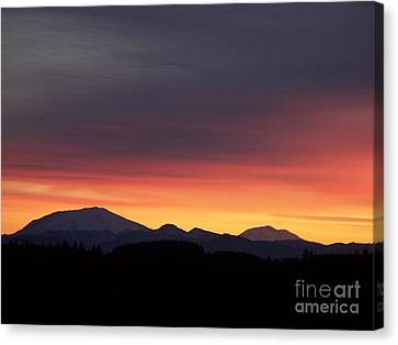 Sunrise 3 Canvas Print by Chalet Roome-Rigdon