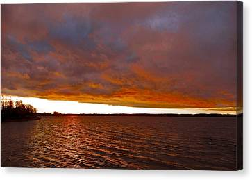 Sunrise At Ile-bizard ...  Canvas Print by Juergen Weiss