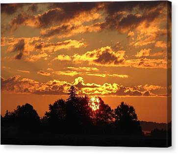 Sunrise At Ravenswood Canvas Print