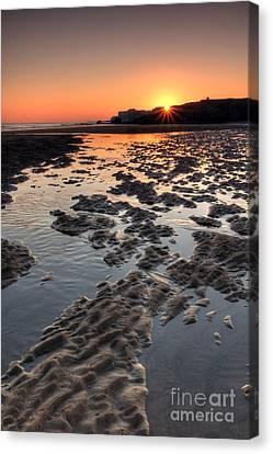 Sunrise At Trow Rocks II Canvas Print by Ray Pritchard