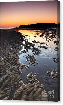 Sunrise At Trow Rocks Canvas Print by Ray Pritchard