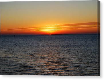 Sunrise Dawning A New Day Canvas Print