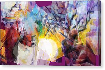 Sunrise In Havana Canvas Print by J Christian Sajous