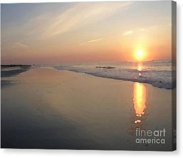 Sunrise On 30th Street Canvas Print