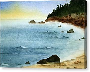 Sunrise On Big Bay Canvas Print