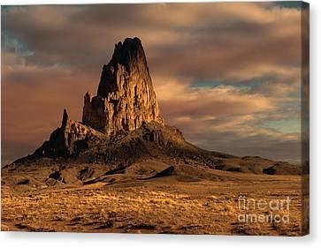 Sunrise On El Capitan Canvas Print by Sandra Bronstein