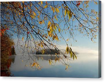 Sunrise On Low's Lake Canvas Print