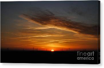 Sunrise On The 505 Canvas Print