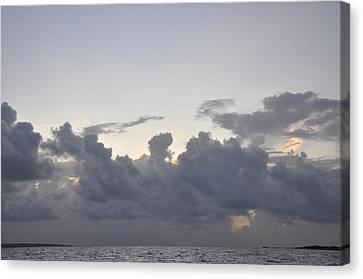 Sunrise Over Orient Bay Canvas Print