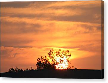 Sunrise Canvas Print by Rusty Voss