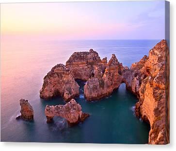 Michael Sweet Canvas Print - Sunrise Serene Coastline by Michael Sweet